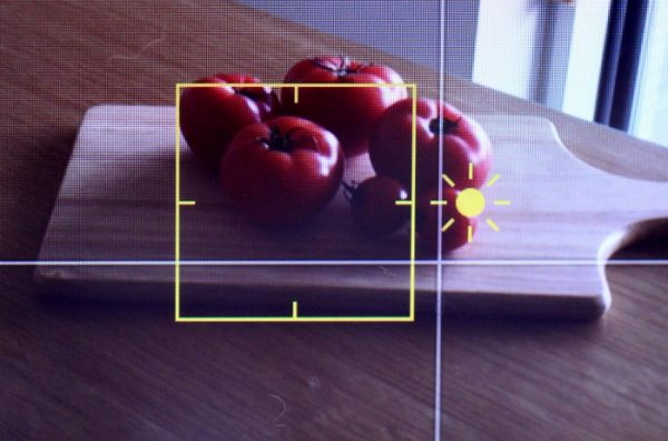 カメラテクトマト太陽マーク