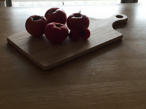 カメラテク逆光トマト