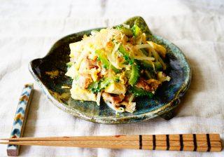 【美肌をキープ♪】暑い夏の活力源! 沖縄家庭料理『ゴーヤチャンプルー』!