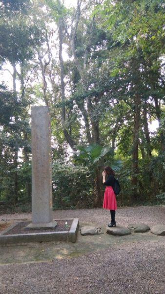 石碑とわたし
