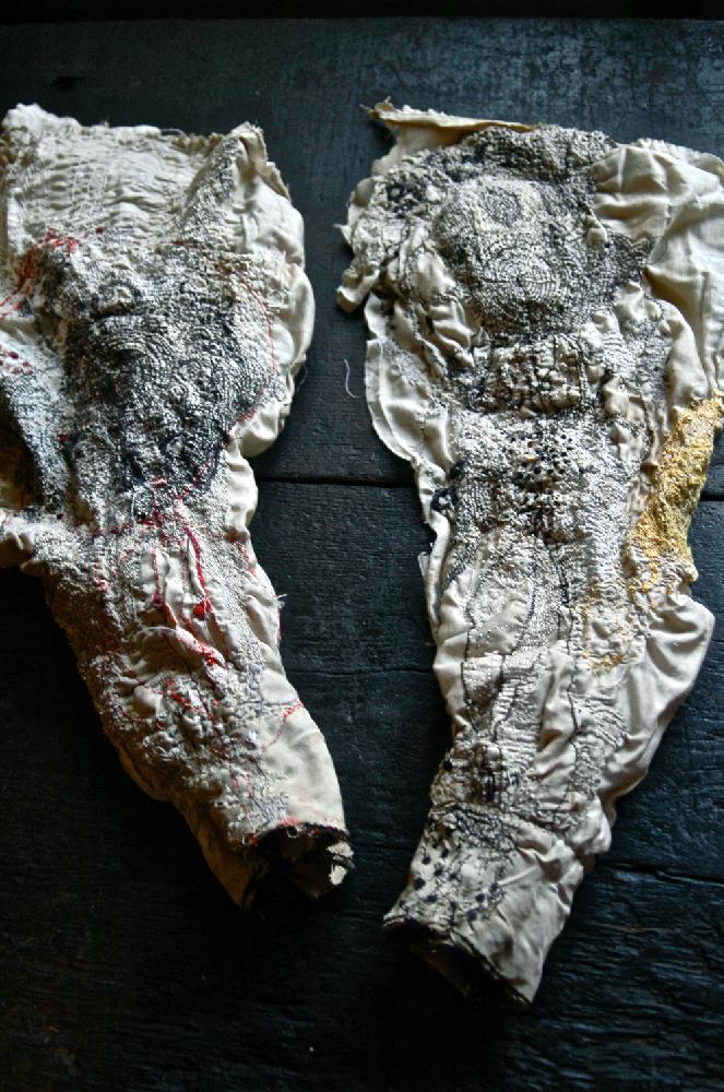 沖潤子«つばめ»2015、«ひばり»2015。