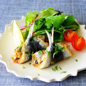 【DHA&EPAが美肌へ導く!】シチリア生まれのポピュラーなイタリア料理『イワシのベッカフィーコ』♪