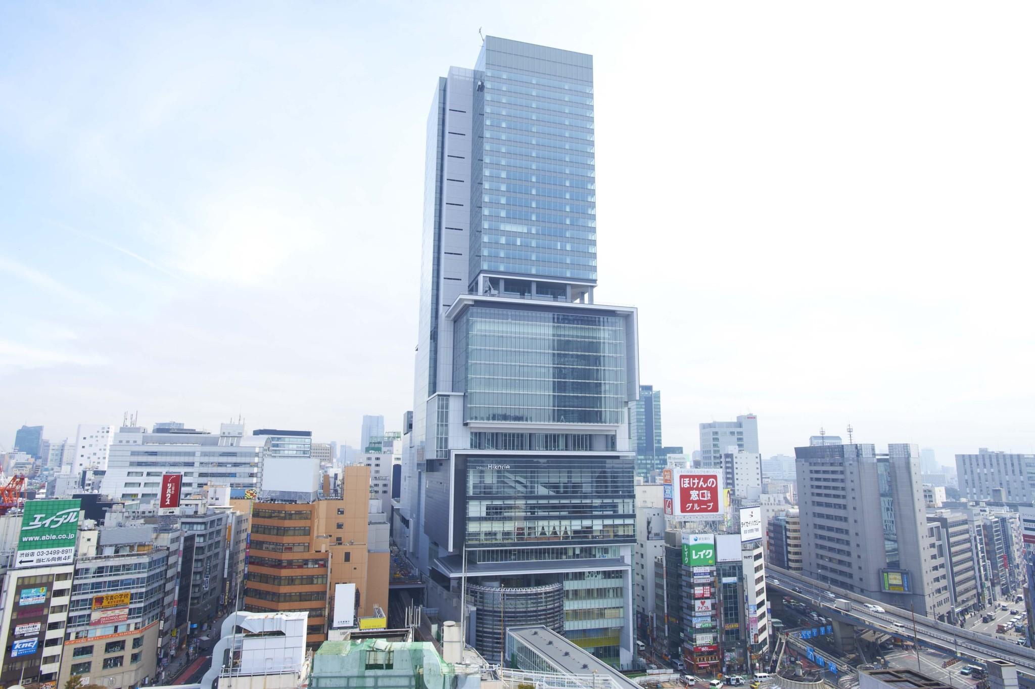 街の顔としてすっかり定着した渋谷ヒカリエ。駅直結で便利なのもうれしい。