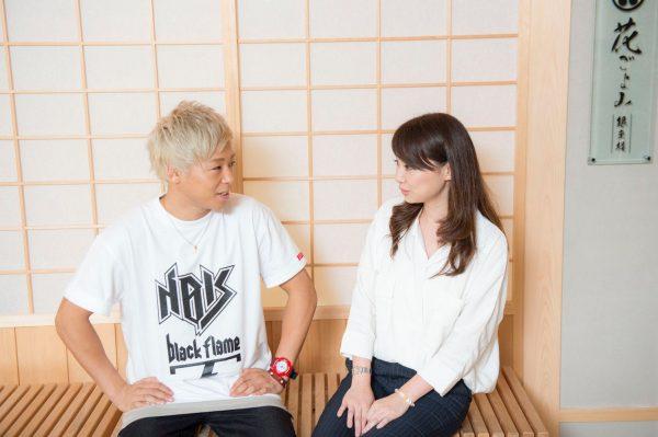 K-1について正直なイメージを話す柴本さん。