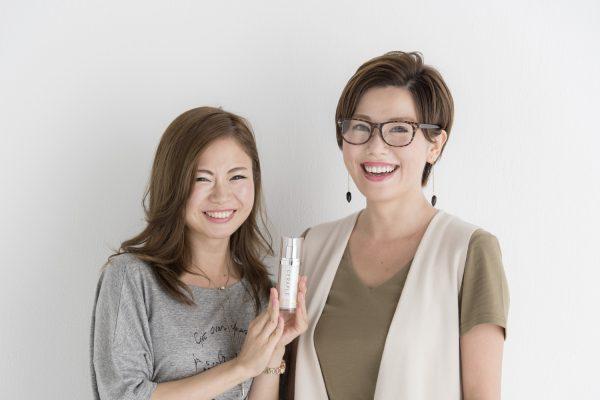 平野絢子さん(左)平野宏枝さん(右)姉妹