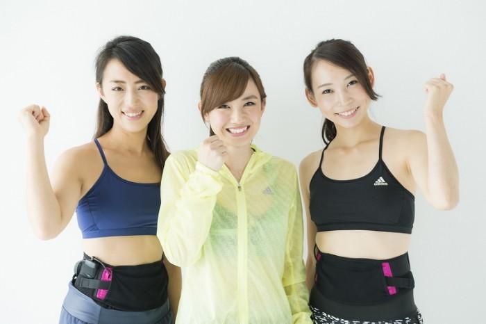 左から星野昇子さん(no. 179)、湯田友美さん、平沢由貴さん(no.75)。
