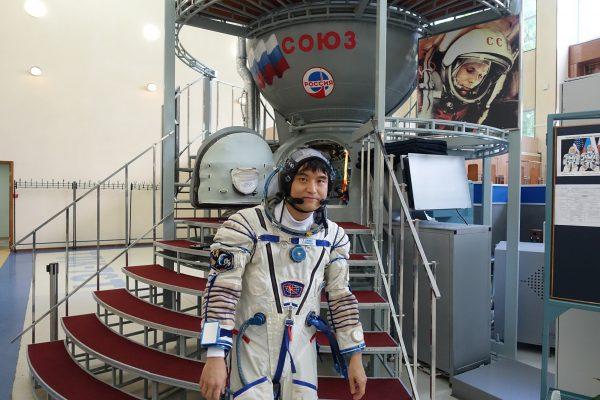 ソユーズ宇宙船の最終試験に臨む大西卓哉宇宙飛行士