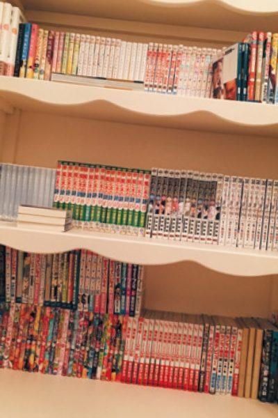 漫画がだ~いすき! 300冊をコレクション。'70年代から最近のものまで読みます。一条ゆかり先生の漫画が特に好き。