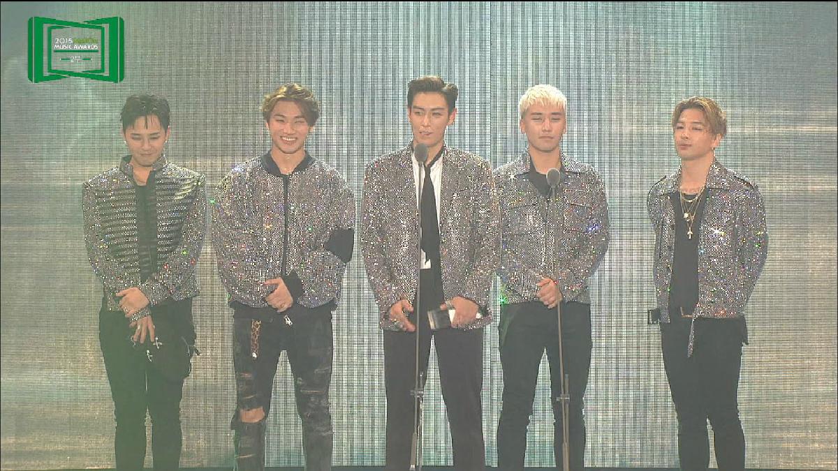 2015 MelOn MUSIC AWARDS アーティスト賞:BIGBANG