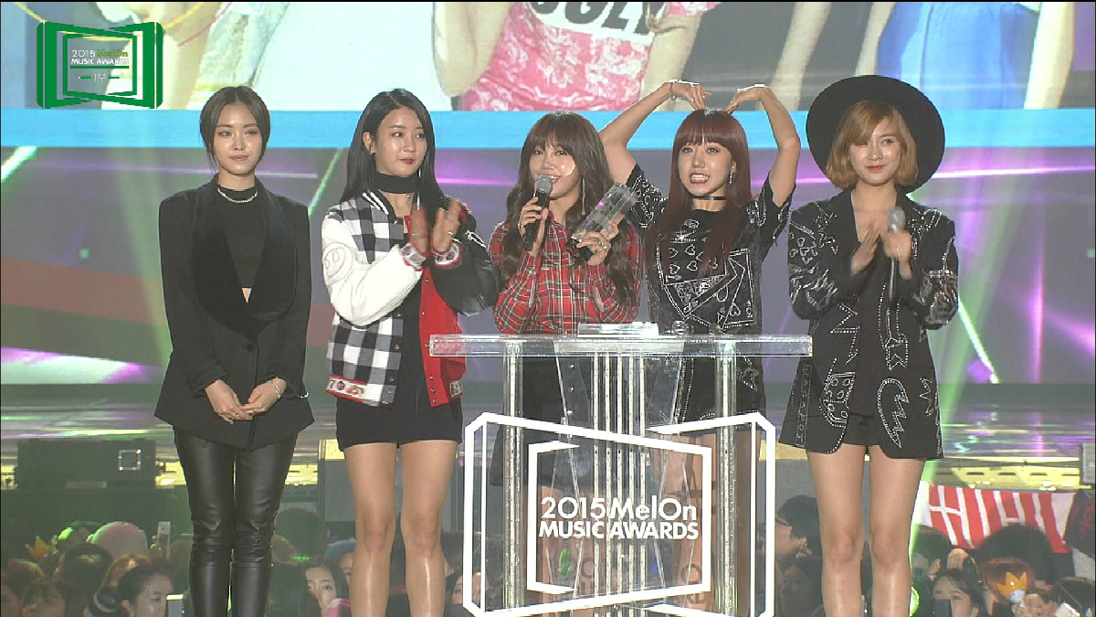 2015 MelOn MUSIC AWARDS TOP10賞:Apink