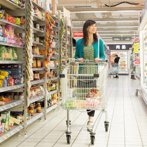家樂福 桂林店(ジャアラァフー グィリンディエン)。24時間営業の大型スーパーで隙間時間を有効活用!
