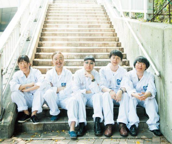 右から、手島いさむ、EBI、ABEDON、奥田民生、川西幸一。1987年に『BOOM』でデビュー。活動休止後、2009年から再始動を果たす。ユニコーンツアー2016「第三パラダイス」が9/3~スタート。