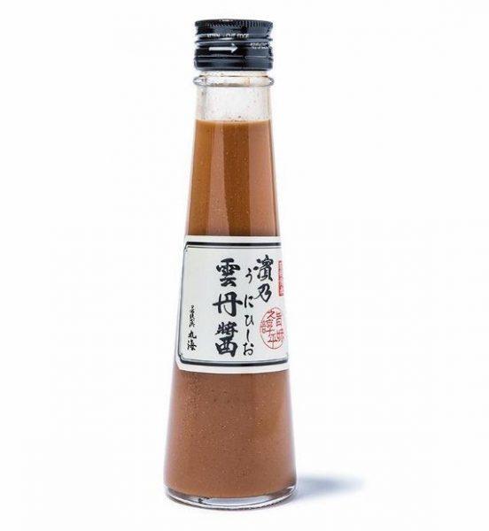 雲丹醤(うにひしお)小瓶140g1100円。
