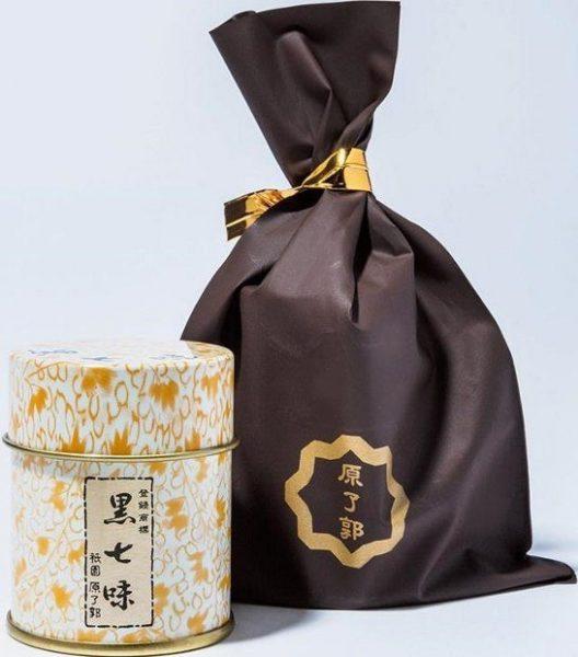 黒七味 6g缶600円。