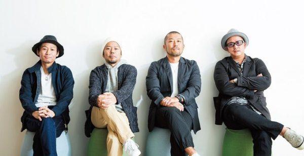 右から、RYOJI(Vo)、大蔵(MC)、RYO(MC)、DJ KOHNO(DJ)。2001年に『ファミリア』でメジャーデビュー。来年3月から全国13都市23公演のアリーナツアーを行う。