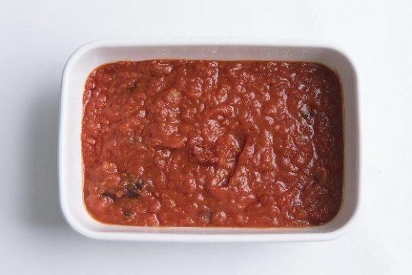 冬のトマトソース。