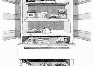 """上は保存食、下はゆとりの空間…料理上手になる冷蔵庫の""""ゾーニング"""""""