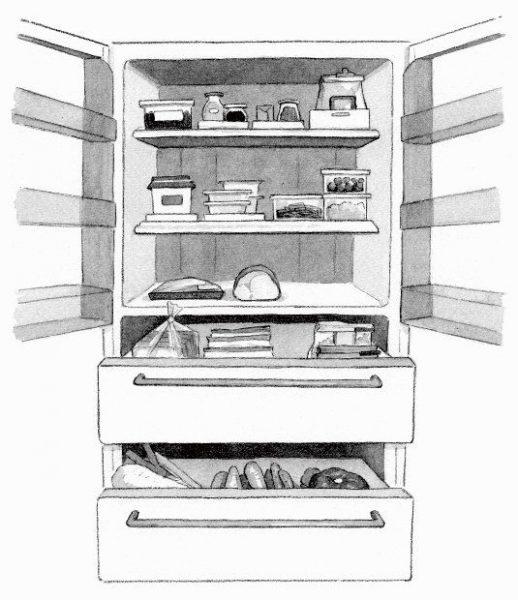 """冷蔵庫は""""ゾーニング""""で整理整頓を"""