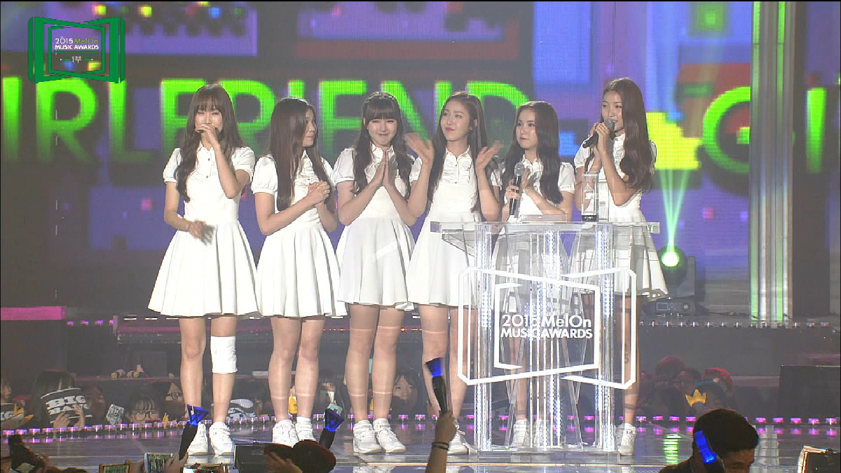 2015 MelOn MUSIC AWARDS 新人賞女:GFRIEND