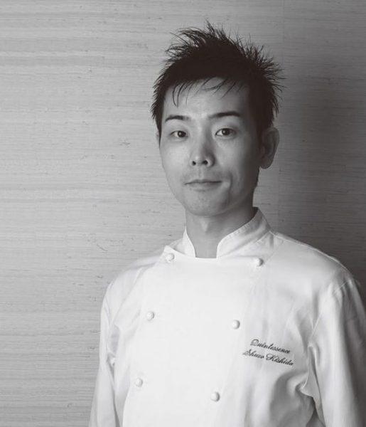 岸田周三さんは、芸術的な料理を作る天才シェフ。