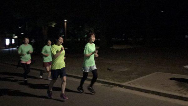 軽いジョギングから、徐々にペースをアップ!