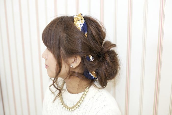 季節を問わず楽しめるオシャレなまとめ髪スタイル♡