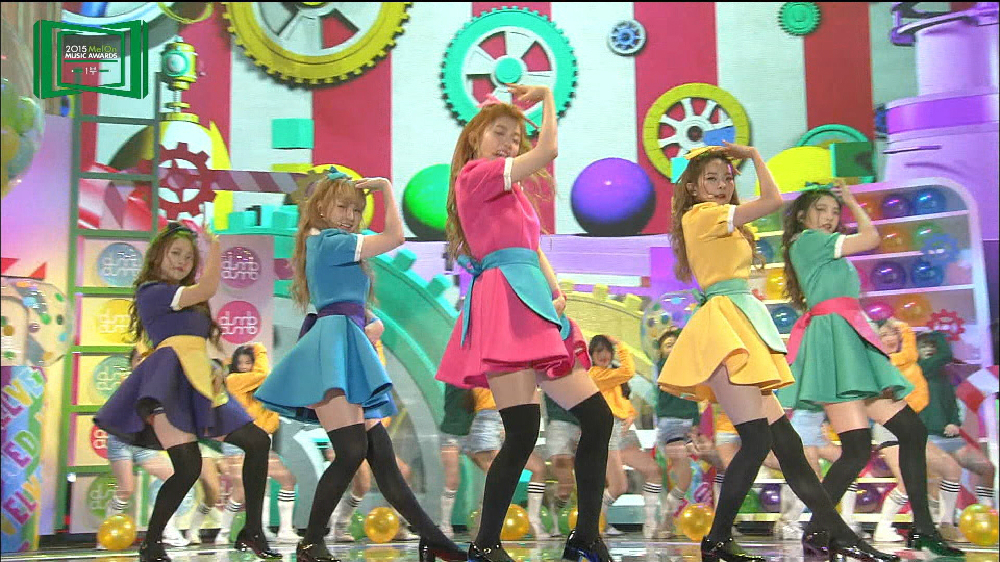 2015 MelOn MUSIC AWARDS 女性ダンス賞:Red Velvet
