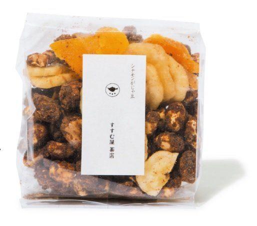 すすむ屋 茶店 自由が丘店「シナモンがじゃ豆」1袋¥350 モダンな奄美の郷土菓子を、オープンほやほやの東京店で。
