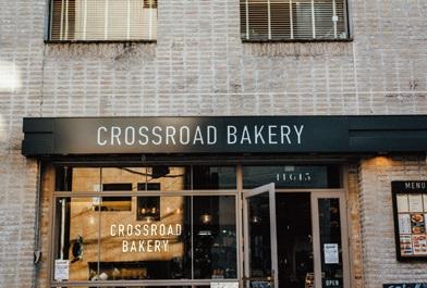 CROSSROAD BAKERY(クロスロード ベーカリー)東京都渋谷区恵比寿西 1‐16‐15‐1F TEL:03・6277・5010 8:00~23:00(22:00LO)無休(年末年始は除く) http://crossroadbakery.com/