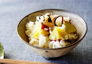 【お腹スッキリ&肌ツルツル♡】ホクホク甘くておいしい♡ 『サツマイモごはん』