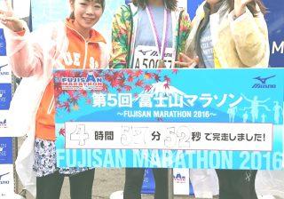 第5回富士山マラソン 初フルマラソン出場記。