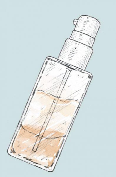 分離した液体モノは肌トラブルのもとに。