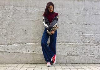 【ベーシックで活用度満点】#5 丈感が使いやすい♪ H&Mのリブニットセーター! デイリーブランド着回し3Days
