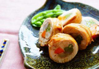 旬の人参で美肌作り♪ 今晩の主菜やお弁当にも! 『彩り鶏ロール』