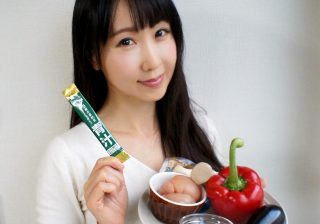 栄養満点&発汗デトックス♪ 青汁入りグリーンカレー 健康食品で簡単美レシピ #7