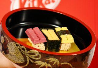 寿司キットカットにKARA出身の知英さん興奮! 『キットカットショコラトリー』が誕生