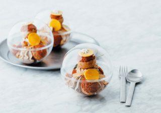近未来的でワクワク♪ ナッツ&レモンの香り漂うヒルトン東京のスイーツ