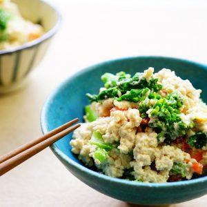 春野菜を使ったアンチエイジングレシピ!マスターしたい基本の白和え