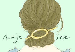 【ひと手間で簡単キレイ!】OLさん向けまとめ髪用ヘアアクセ|デキるOLマナー&コーデ術 ♯31