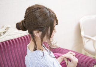 【5分で!】梅雨どきのオフィス向けアレンジ♡ コテ巻き不要のまとめ髪 #26