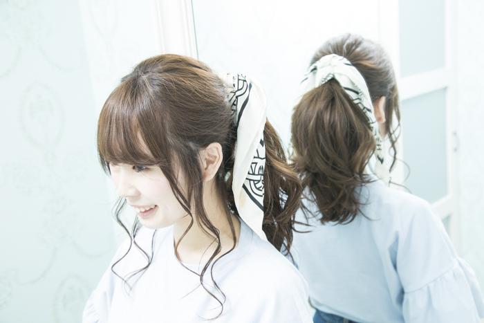 髪型 ポニーテール アレンジ