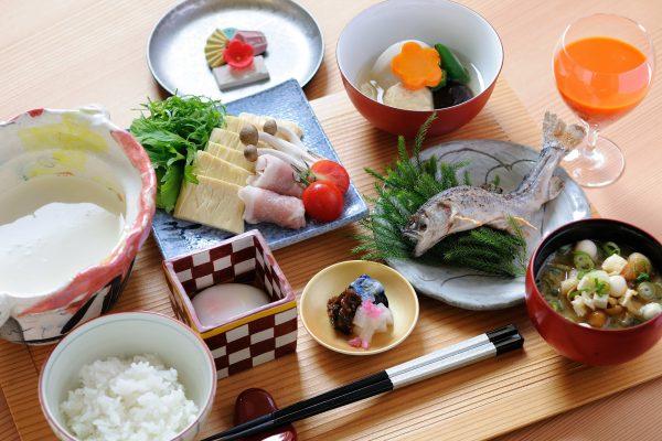【界日光】豆乳湯葉朝食