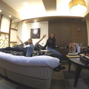 【1か月ラブホ生活 in東京】モチつる肌になれる♡ 鶯谷のラブホテル #14