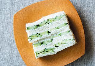 夏野菜「きゅうり」がオシャレに変身! サンド&アンチョビ炒めが美味しそう~