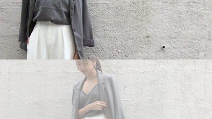 【艶感ある生地が大人っぽい!】H&Mのキャミソールトップスコーデ3選! …