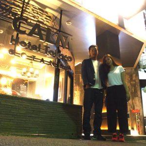 【1か月ラブホ生活 in東京】おしゃれ空間でH三昧♡ 五反田ラブホ! #25
