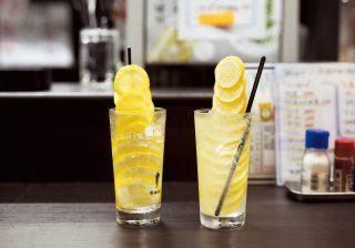 レモンタワーにフワフワ泡レモン おしゃれ進化系「レサワ」をチェック!