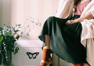 【意外! 秋デートに使える♡】アラサー女性に似合う靴下コーデ|スタイリストのファッション恋愛術 ♯44