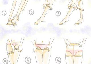 【夏でもOLの必需品】ちゃんと履けてる?ストッキングの正しい履き方|デキるOLマナー&コーデ術 ♯41