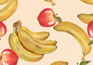 【心理テスト】性的欲求不満が判明…りんごとバナナを書いてみて